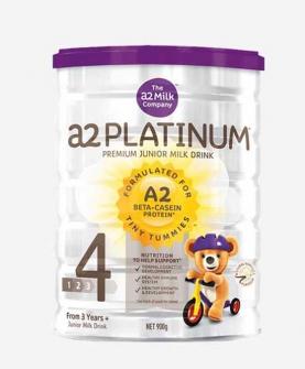 新西兰A2 Platinum酪蛋白婴儿奶粉4段