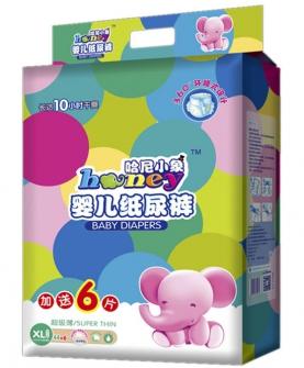 哈尼小象纸尿裤