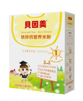 铁锌钙营养米粉225g1盒
