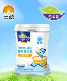 薏米莲子益生菌米乳罐