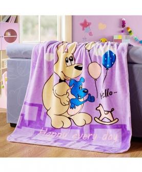 婴童毛毯盖毯儿童云毯