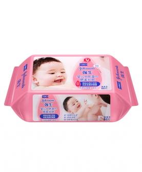 婴儿倍柔护肤湿巾80片