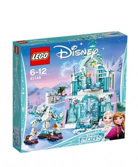 迪斯尼系列艾莎冰雪城堡41148拼装积木玩具