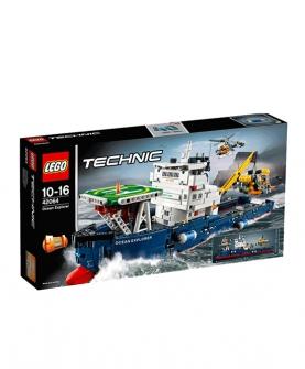 积木拼装玩具科技系列海洋探险船