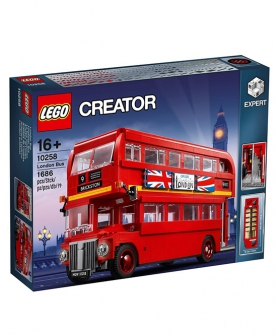 创意百变高手系列伦敦巴士