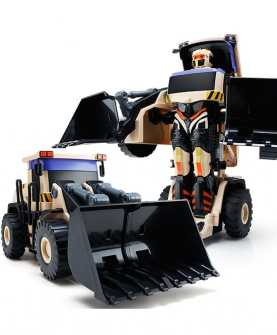 遥控变形铲车狂暴钢爪压路机