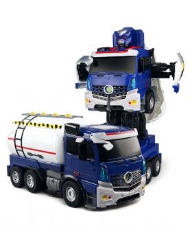 遥控声控变形汽车机器人