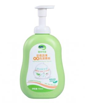 台湾进口奶瓶蔬果酵素洗洁慕斯700ml