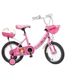 儿童自行车女孩公主款