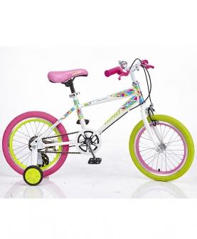 脚踏车糖果色炫彩