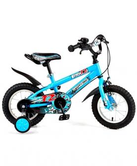 男孩12寸自行车炫酷山地车