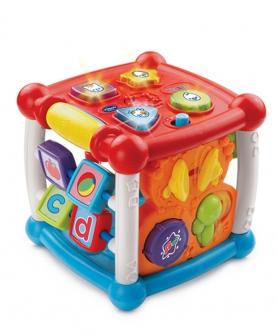 六面体婴儿早教益智玩具