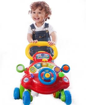 宝宝学步手推车