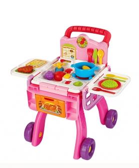 厨房购物车过家家玩具