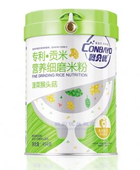 菠菜猴头菇营养细磨米粉454g