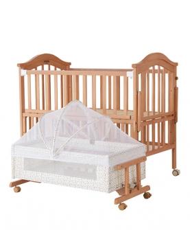 婴儿床实木床