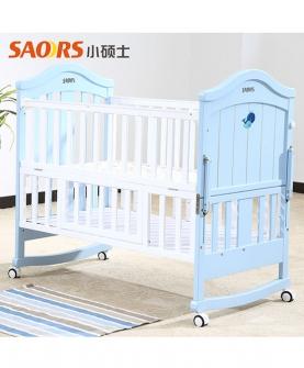 新生婴儿床实木多功能摇篮床