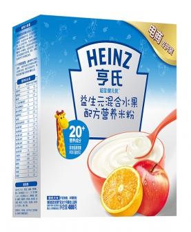 混合水果配方營養米粉