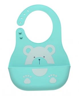 婴儿围兜超软硅胶防水