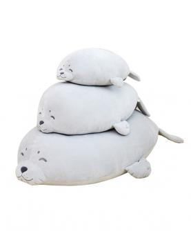 海豹毛绒玩具公仔