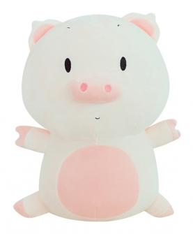 猪公仔毛绒玩具搞怪抱枕玩偶