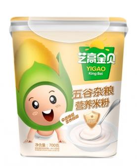 五谷杂粮营养米粉-桶装