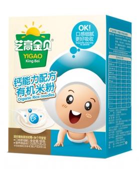 钙能力配方有机米粉-盒装