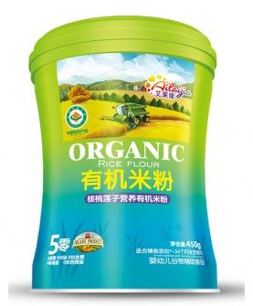 核桃莲子营养有机米粉