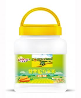 胡萝卜果蔬营养配方米粉