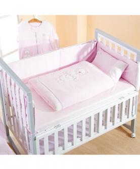 婴儿针织床品套件