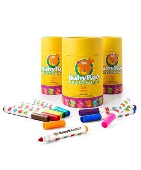 宝宝水彩笔可水洗无毒