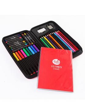 水彩笔蜡笔彩铅