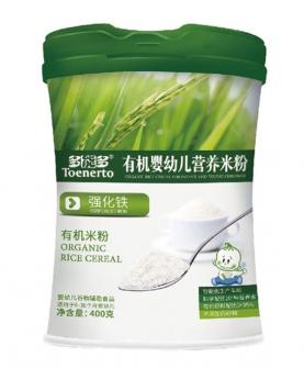 强化铁有机婴幼儿营养米粉桶装
