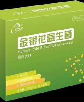 金银花益生菌固体饮料