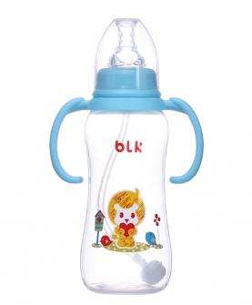 PP标口径自动奶瓶300ml