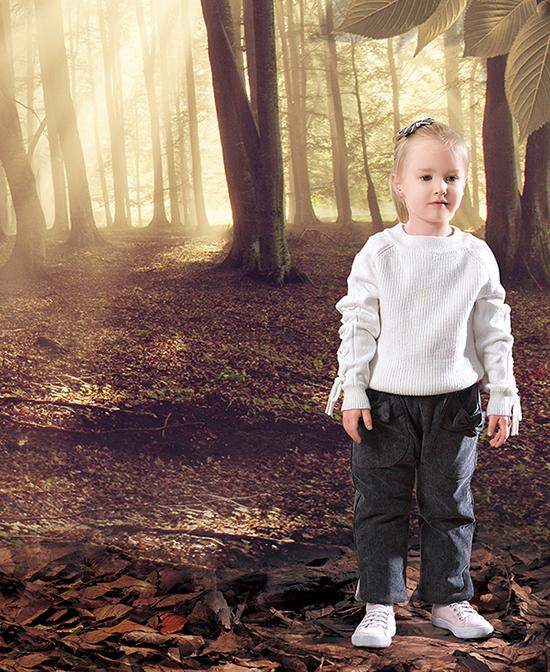 杰茜杰瑞女童装毛衣