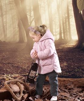 女童装外套