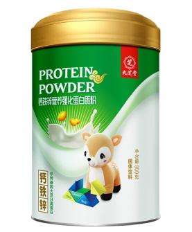 钙铁锌营养强化蛋白质粉
