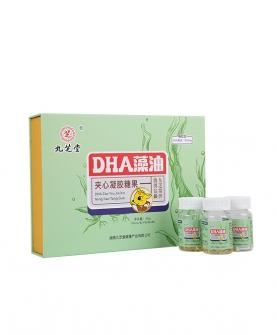 DHA藻油夹心凝胶糖果