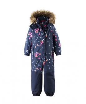 中童女款防水连体滑雪服
