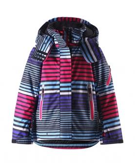中童女款防水防寒冬季夹克棉服