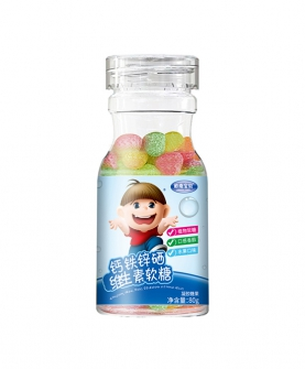 钙铁锌硒维生素软糖