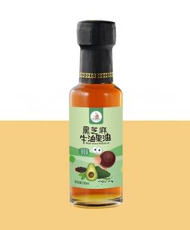 黑芝麻牛油果油