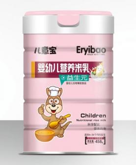 婴幼儿营养米乳-益生元罐装