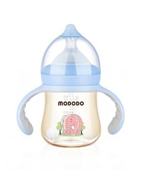 180ML PPSU宽口时尚有柄自动奶瓶