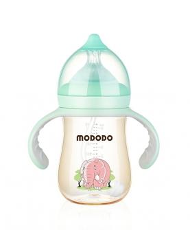 240ML PPSU宽口时尚有柄自动奶瓶