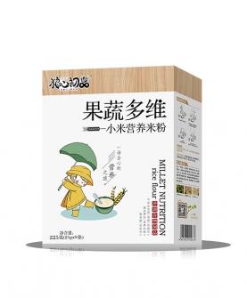 果蔬多维小米营养米粉 盒装