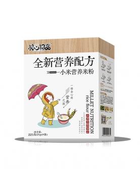 全新营养配方小米营养米粉 盒装