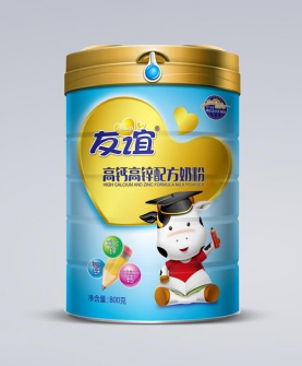 高钙高锌配方奶粉