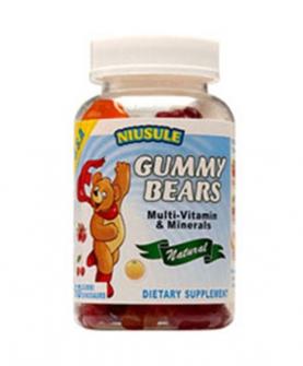 纽素乐戈咪熊果味软糖复合维生素+矿物质